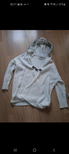 keine Coarse Knitted Jacket white
