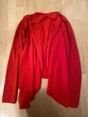 KAREN MILLEN Giacca in maglia rosso