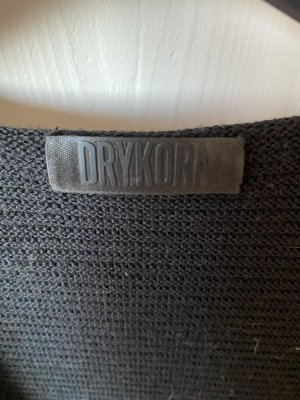 Strickjacke Drykorn Schwarz M Kapuze neuwertig schwarz kein Verschluss