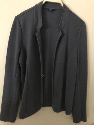 Tom Tailor Veste en laine gris-bleu foncé