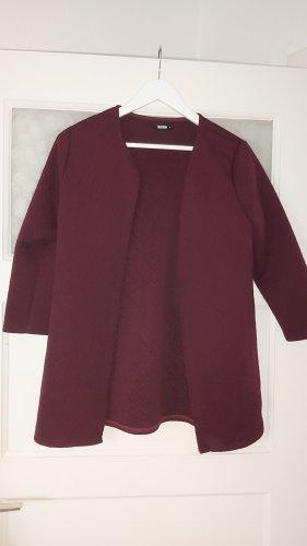 Colloseum Knitted Blazer bordeaux