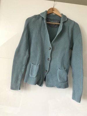 Blonde No. 8 Veste tricotée en grosses mailles bleu clair