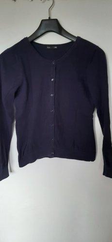 H&M Basic Shirtjack blauw-donkerblauw