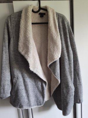 Amisu Giacca in maglia grigio