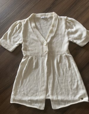 Apart Cardigan in maglia bianco-bianco sporco