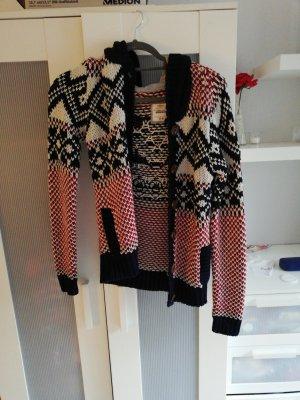 Clockhouse Veste tricotée en grosses mailles multicolore