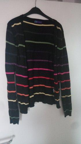 AJC Giacca in maglia multicolore