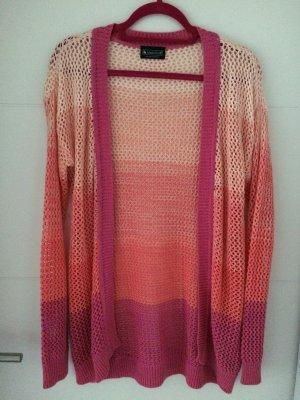 Strickjacke farbverlauf pink Gr. 36/38 *NEU* Laura Scott