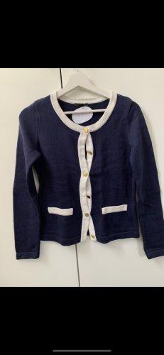 H&M Rebeca azul-blanco
