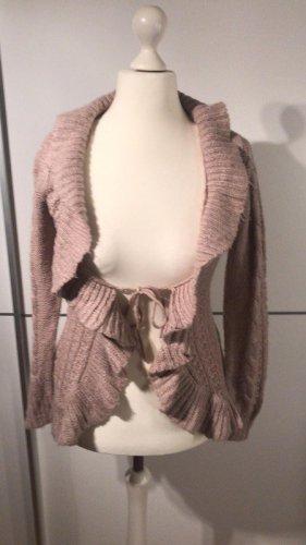 Colloseum Giacca in maglia rosa