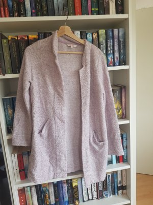 Strickjacke Flieder