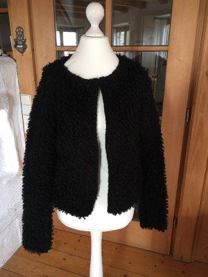 Geisha Chaqueta de lana negro