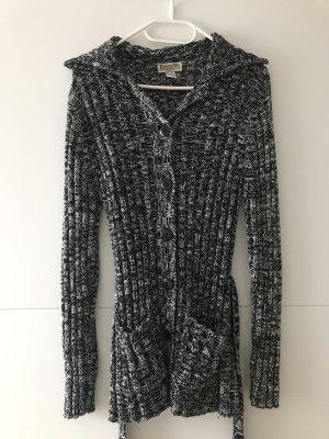 Boysen's Giacca in maglia nero-bianco
