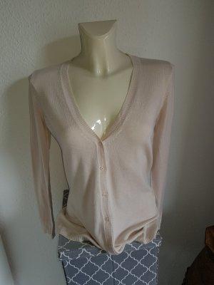 Anne L. Veste en tricot crème-beige clair