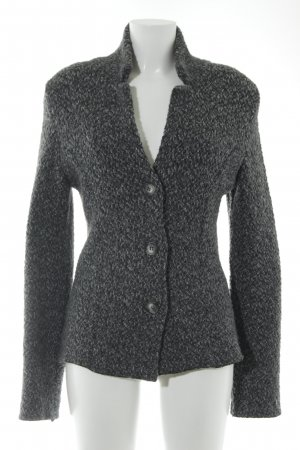 Strickjacke grau meliert Casual-Look