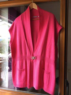 Rabe Short Sleeve Knitted Jacket magenta-pink