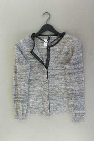 Strickjacke Größe M Langarm grau aus Baumwolle