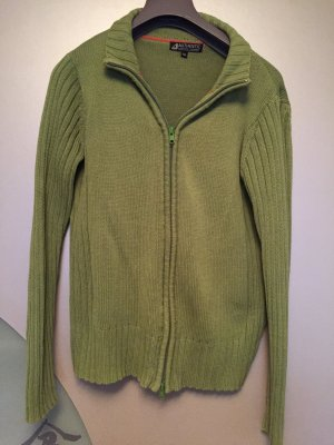 Authentic Knitted Cardigan grass green