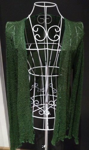 Diva Giacca in maglia verde