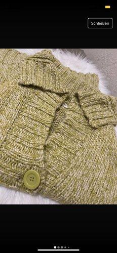 C&A Yessica Giacca di lana verde oliva-bianco sporco