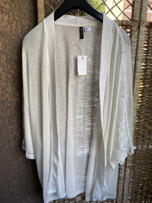 H&M Gehaakte cardigan wit