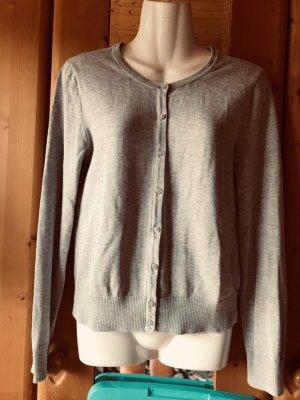 H&M Veste chemise gris clair
