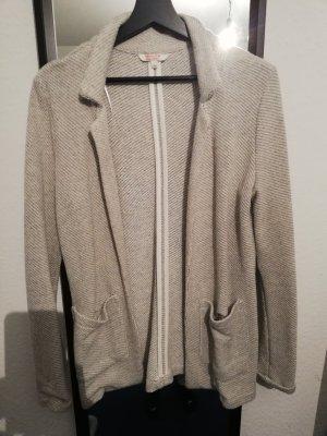 C&A Blazer tejido gris claro