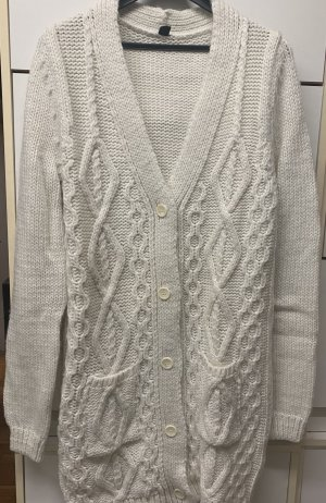 Pimkie Coarse Knitted Jacket oatmeal-natural white