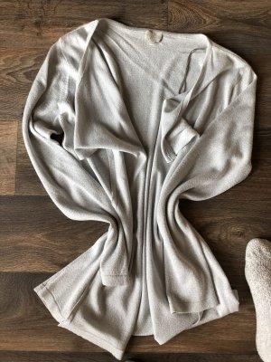 Milano Cardigan white-silver-colored
