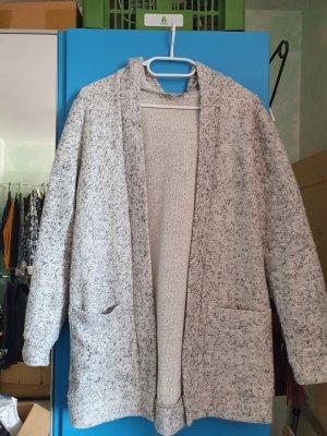 C&A Clockhouse Veste en tricot blanc-gris clair