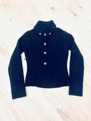 Mango Wool Blazer black wool