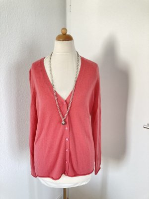 Strickjacke Kaschmir Gr S rosa statt130 eur