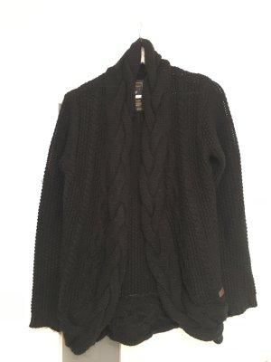 Key Largo Coarse Knitted Jacket black