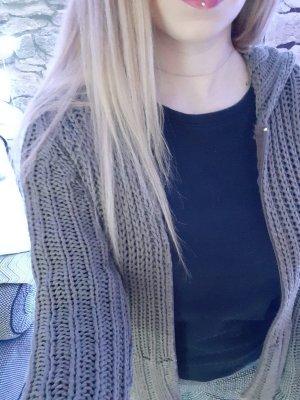 Chaqueta estilo camisa caqui-gris verdoso
