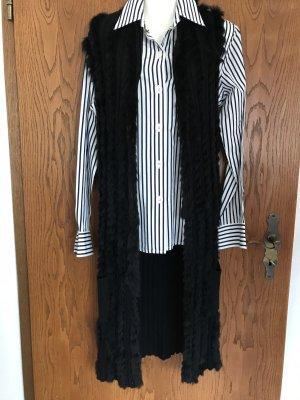 Miss Elegance Długa kurtka czarny