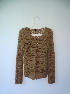 Dolce & Gabbana Coarse Knitted Jacket multicolored mohair