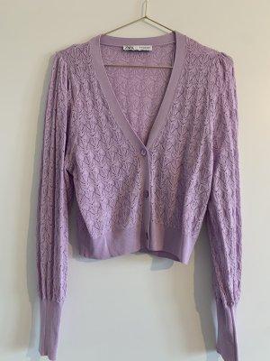 Strickjacke Lavendel