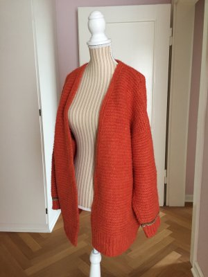 Ange Paris Cardigan dark orange mixture fibre