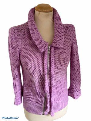 Louis Vuitton Cardigan a maglia grossa rosa