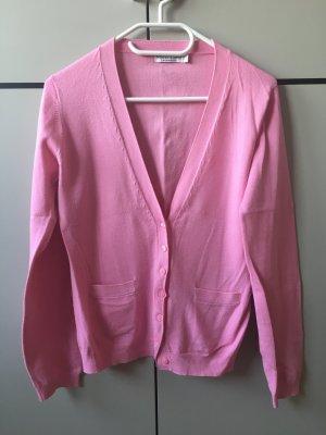 Marie Lund Giacca in maglia rosa Viscosa