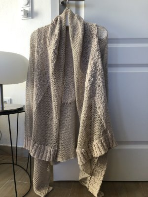 Michael Kors Coarse Knitted Jacket oatmeal