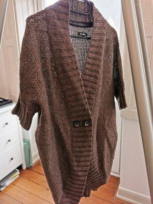Minimum Short Sleeve Knitted Jacket grey lilac