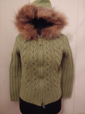 Marc O'Polo Coarse Knitted Jacket grass green