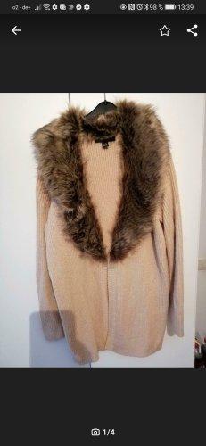 Forever 21 Coarse Knitted Jacket beige