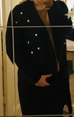 Gina Cardigan in maglia nero-bianco