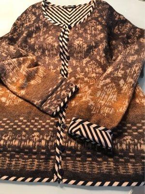 Gerry Weber Gilet tricoté multicolore laine
