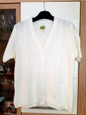 Knitted Blazer white