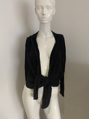 Hunkemöller Hooded Sweater black cotton
