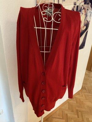 Pepaloves Giacca in maglia rosso