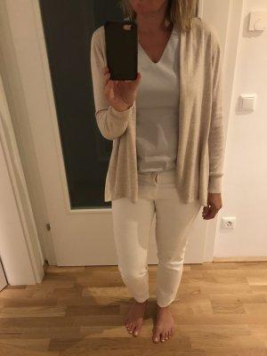 Repeat Cardigan tricotés blanc cassé-beige clair